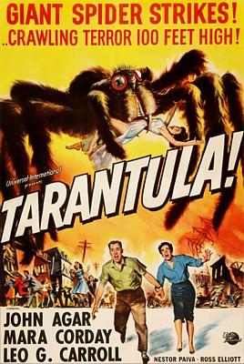 Tarantula (USA 1955) Filmplakat