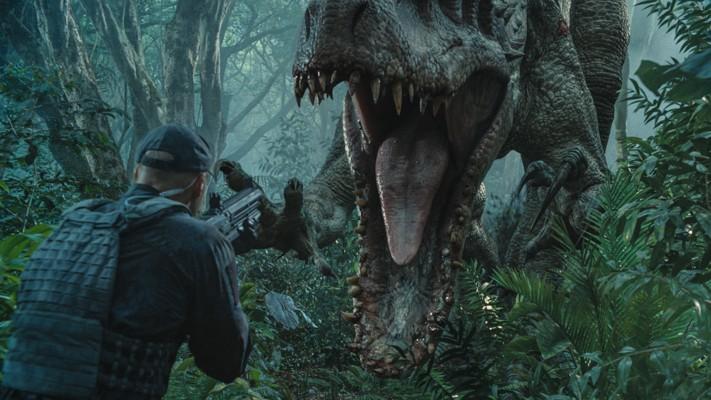 """Szenenfoto aus dem Film """"Jurassic World"""" (USA 2015); Indominus Rex"""