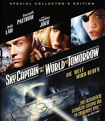 "Bluray-Cover zu dem Film ""Sky Captain and the World of Tomorrow"" (USA 2004) von Kerry Conran"