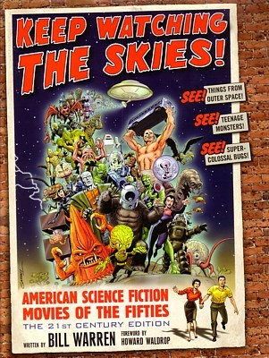 "Buchcover von Bill Warren, ""Keep Watching the Skies!"" (2nd Edition, 2010)"