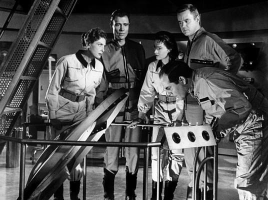 "Szenenfoto aus dem Film ""It! The Terror from Beyond Space"" (USA 1958)"