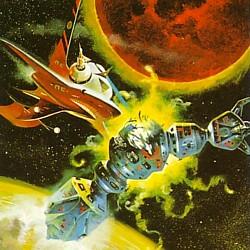 """Ausschnitt aus dem Buchcover von """"Die besten Stories von Stanley G. Weinbaum"""" (Playboy Science Fiction, Moewig Verlag 1980)"""