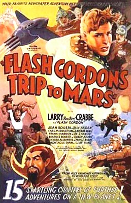 "Poster zum Kinoserial ""Flash Gordon's Trip to Mars"" (USA 1938)"