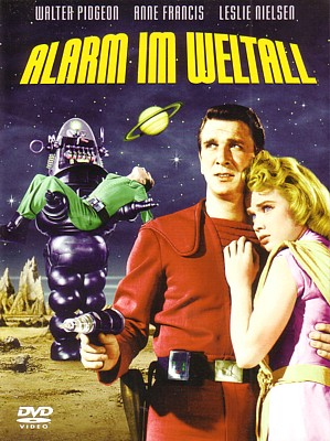 "DVD-Cover von ""Alarm im Weltall"" (Forbidden Planet, USA 1956) von Turner Entertainment/Warner Bros. Entertainment Inc."