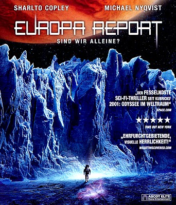 "Bluray-Cover von dem Film ""Europa Report"" (USA 2013)"
