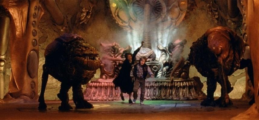 """Szenenbild aus dem Film """"Invasion vom Mars"""" (Invaders from Mars, USA 1986) von Tobe Hooper"""