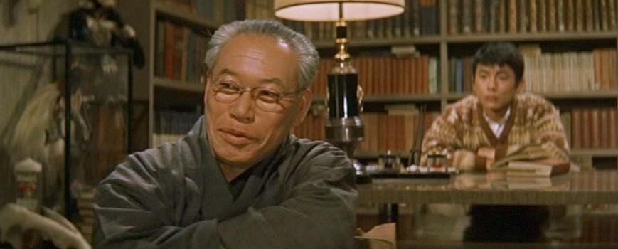 """Szenenfoto aus dem Film """"Gorath"""" (UFOs zerstören die Erde, Japan 1962) von Ishiro Honda; Takashi Shimura und Fumio Sakashita"""