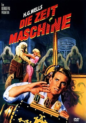 "DVD-Cover zum Film ""Die Zeitmaschine"" (The Time Machine, USA 1960) von George Pal"