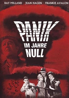 """DVD-Cover zu dem Film """"Panik im Jahre Null"""" (Panic in Year Zero, USA 1962) von Ray Milland"""
