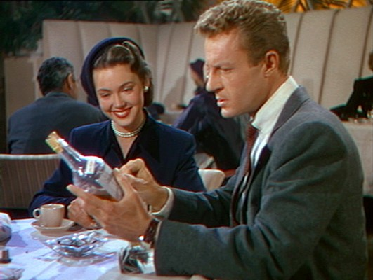 Barbara Rush und Richard Derr in Der jüngste Tag (When Worlds Collide, USA 1951)