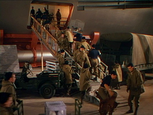Die Arche wird beladen in dem Film Der jüngste Tag (When Worlds Collide, USA 1951)