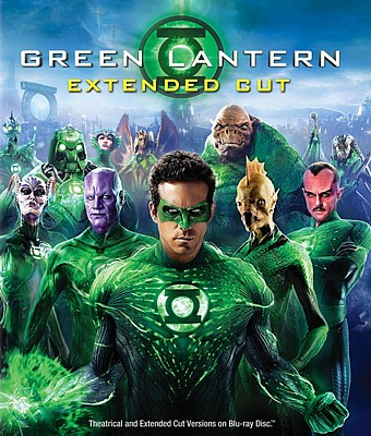 "Bluray-Cover zu dem Film ""Green Lantern"" (USA 2011) von Martin Campbell"