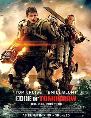 "Poster für den Film ""Edge of Tomorrow"" (USA/GB 2014) von Doug Liman"