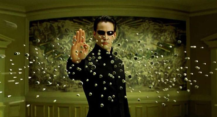Keanu Reeves als Neo in The Matrix (USA 1999) von den Wachowski-Geschwistern