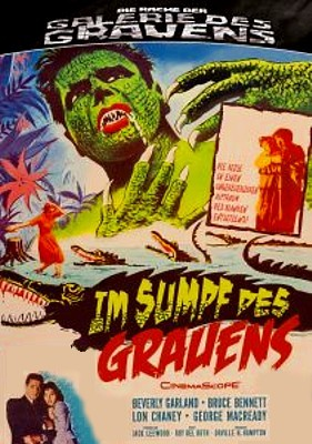 "DVD-Cover zu dem Film ""Im Sumpf des Grauens"" (The Alligator People, USA 1959)"