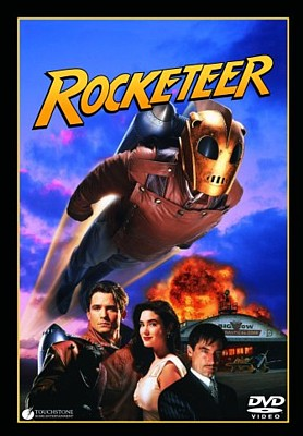 "DVD-Cover zu dem Film ""Rocketeer"" (1991) von Joe Johnston"