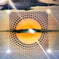 """Ausschnitt des Covermotivs des Romans """"Die Glasfalle"""" von Herbert W. Franke, in zweiter Auflage (1981) im Wilhelm Goldmann Verlag"""