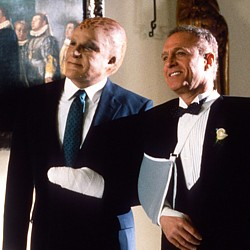 "Szenenfoto aus ""Space Cop L.A. 1991"" (Alien Nation, USA 1988) von Graham Baker; James Caan und Mandy Patinkin"
