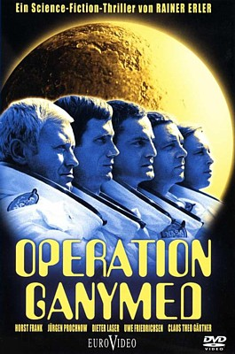"DVD-Cover zu dem Film ""Operation Ganymed"" (BRD 1977) von Rainer Erler"