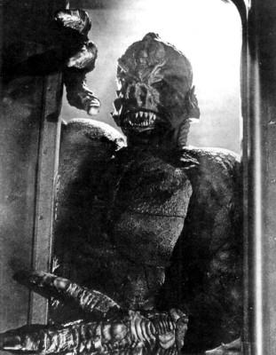 "Pressefoto zu dem Film ""It! The Terror from Beyond Space"" (USA 1958)"