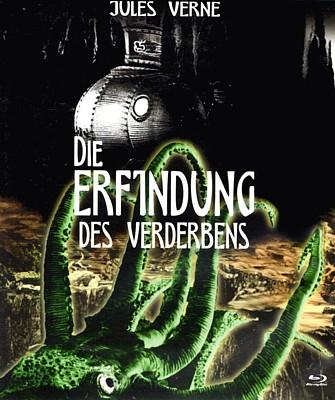 """Bluray-Cover zu dem Film """"Die Erfindung des Verderbens"""" (CSSR 1958) von Karel Zeman"""
