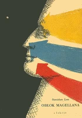 Stanislaw Lem: Oblok Magellana (Gast im Weltraum), Buchcover der polnischen Erstausgabe 1955 von Iskry