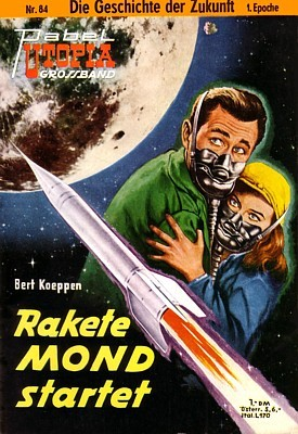 Rakete Mond Startet