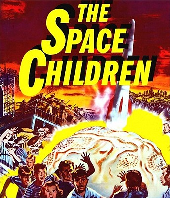 "Bluray-Cover zu dem Film ""The Space Children"" (USA 1958) von Jack Arnold"