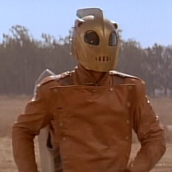 "Szenenfoto aus ""Rocketeer"" (1991) von Joe Johnston; Bruce Campbell"