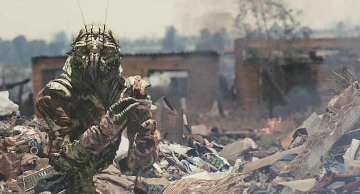"""Szenenfoto aus dem Film """"District 9"""" (2009) von Neill Blomkamp"""