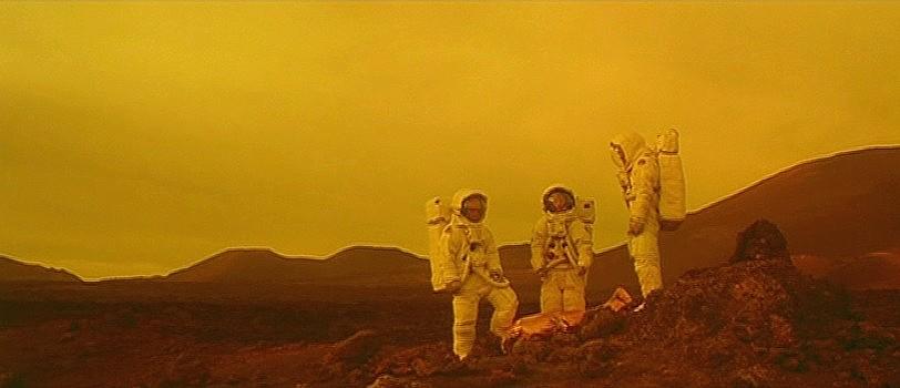"""Szenenfoto aus dem Film """"Náufragos"""" (Spanien 2001)"""
