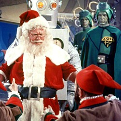 "Szenenfoto aus dem Film ""Santa Claus Conquers the Martians"" (USA 1964)"