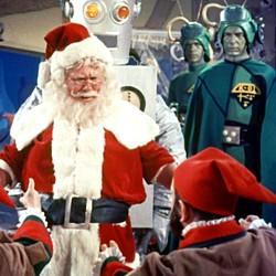 """Szenenfoto aus dem Film """"Santa Claus Conquers the Martians"""" (USA 1964)"""