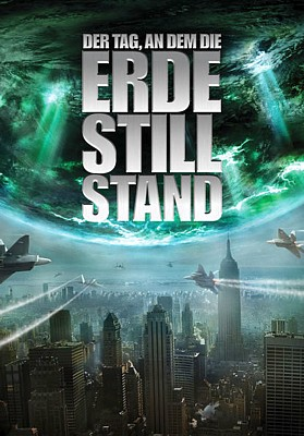 "DVD-Cover von ""Der Tag, an dem die Erde stillstand"" (The Day the Earth Stood Still, USA 2008) von Scott Derrickson"