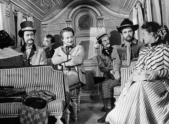 """Szenenfoto aus dem Film """"Die Erfindung des Verderbens"""" (CSSR 1958) von Karel Zeman; Lubor Tokos"""