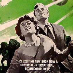 """Ausschnitt aus dem Buchcover von """"This Island Earth"""" von Raymond Jones, Shasta-Auflage von 1955"""