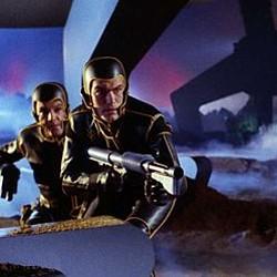 """Szenenfoto zu dem Film """"Planet der Vampire"""" (Terrore Nello Spazio, Italien/Spanien 1965) von Mario Bava"""