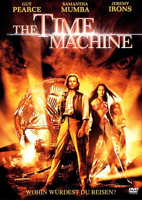 "DVD-Cover zu dem Film ""The TIme Machine"" (USA 2002) von Simon Wells"