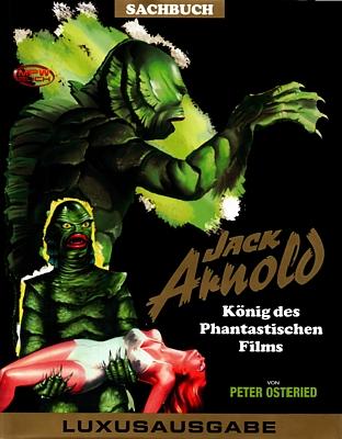 """Buchcover zu Peter Osteried: """"Die Filme von Jack Arnold"""" (MPW-Verlag 2012); Covermotiv B"""