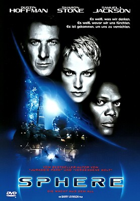 "DVD-Cover zum Film ""Sphere"" (USA 1998) von Barry Levinson"