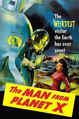 The Man from Planet X (USA 1951) Postermotiv