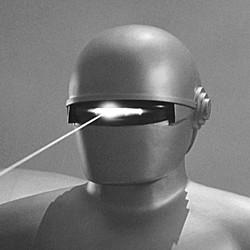"""Szenenfoto aus """"Der Tag, an dem die Erde stillstand"""" (The Day the Earth Stood Still, USA 1951); der Roboter Gort"""