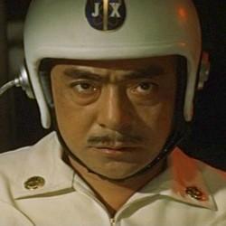 """Szenenfoto aus dem Film """"Gorath"""" (UFOs zerstören die Erde, Japan 1962); Jun Tazaki"""