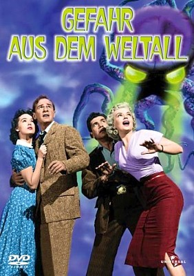 "DVD-Cover von ""Gefahr aus dem Weltall"" (It Came from Outer Space, USA 1953)"
