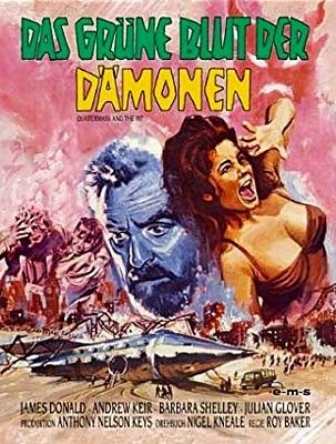 """DVD-Cover zu dem Film """"Das grüne Blut der Dämonen"""" (Quatermass and the Pit, GB 1967) von Roy Ward Baker"""