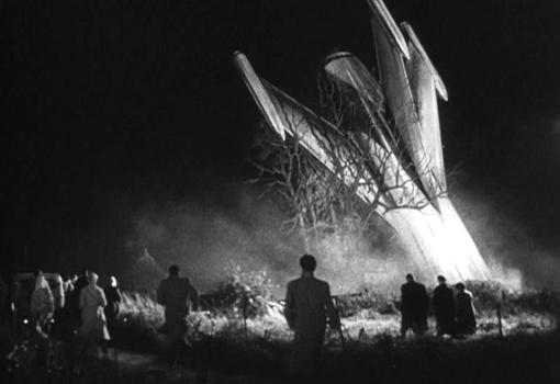 """Szenenfoto aus dem Film """"Schock"""" (The Quatermass Xperiment, GB 1955) von Val Guest"""