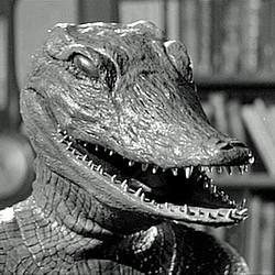 """Szenenfoto zu dem Film """"Im Sumpf des Grauens"""" (The Alligator People, USA 1959)"""
