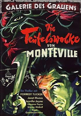 """DVD-Cover zu dem Film """"Die Teufelswolke von Monteville"""" (The Trollenberg Terror/The Crawling Eye, GB 1958)"""