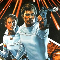 "Ausschnitt aus dem DVD-Cover zu dem Film ""Buck Rogers"" (Buck Rogers in the 25th Century, USA 1979)"