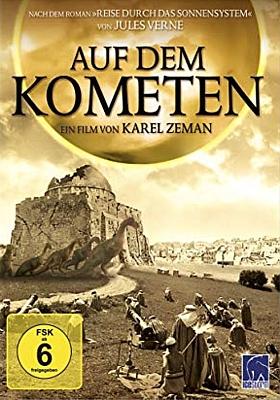 """DVD-Cover zu dem Film """"Auf dem Kometen"""" (Na Komete, CSSR 1970) von Karel Zeman; Icestorm 2011"""